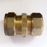 "Brass Imperial 3/8"" - 17.5mm Alkathene Coupler -18401200"